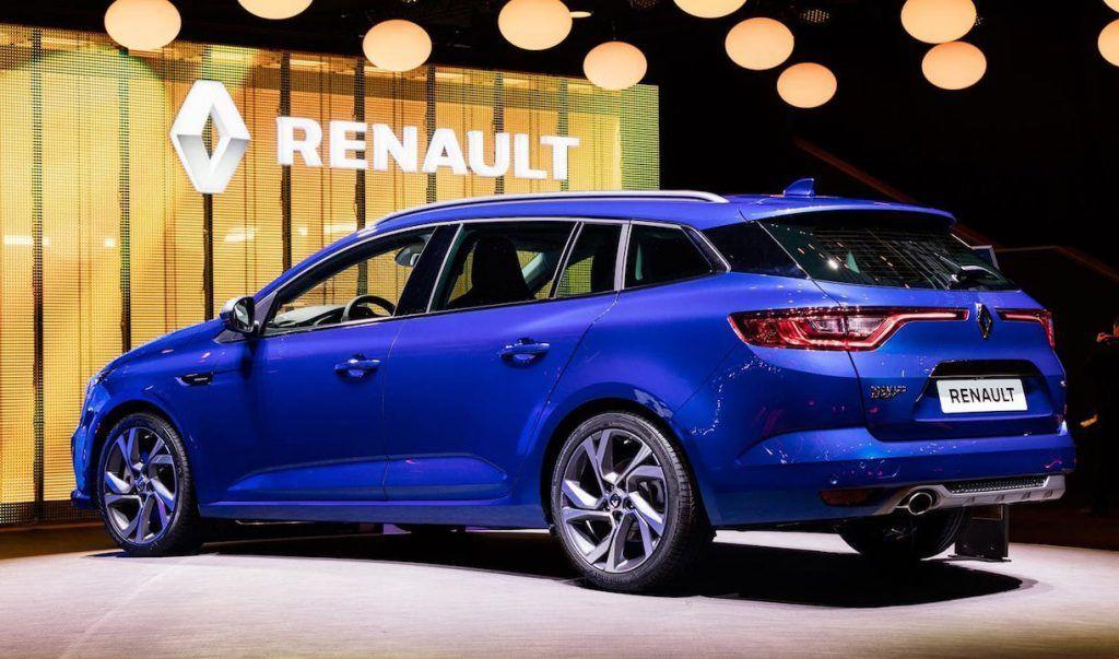 Renault Megane Estate au Mondial de Paris