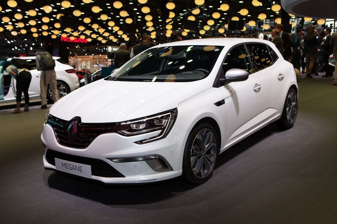 Renault Megane au Mondial de Paris