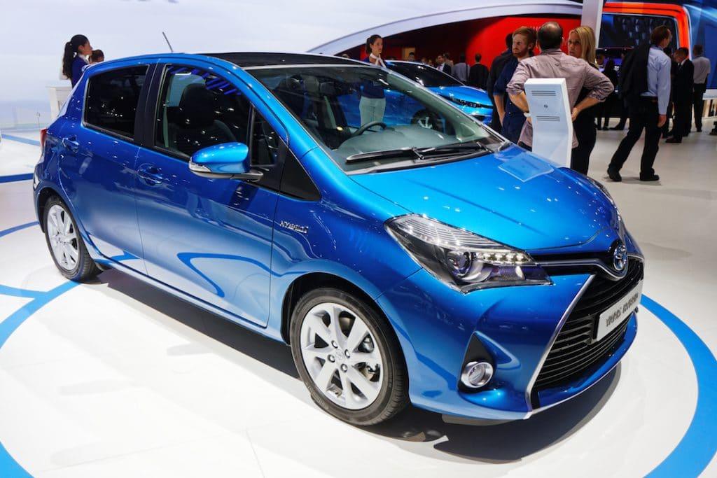 Toyota Yaris Hybride au Mondial de Paris