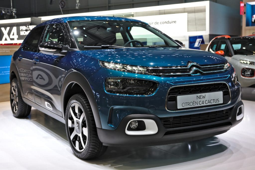Nouvelle Citroën C4 Cactus 2018