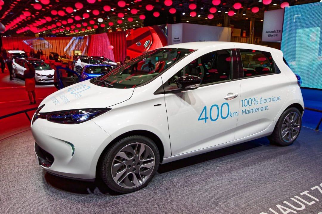 Renault Zoe au Mondial de l'Auto de Paris