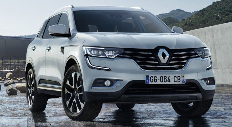 le nouveau renault koleos 2017 bient t disponible en france. Black Bedroom Furniture Sets. Home Design Ideas